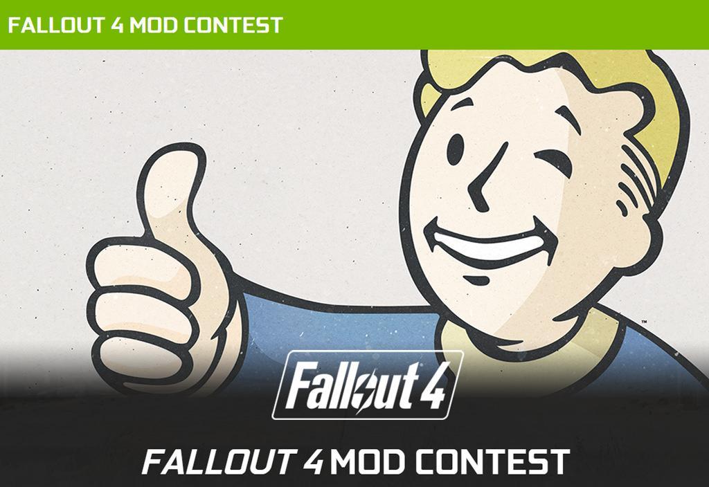 Конкурс от Nvidia! 000 за моды к Fallout 4