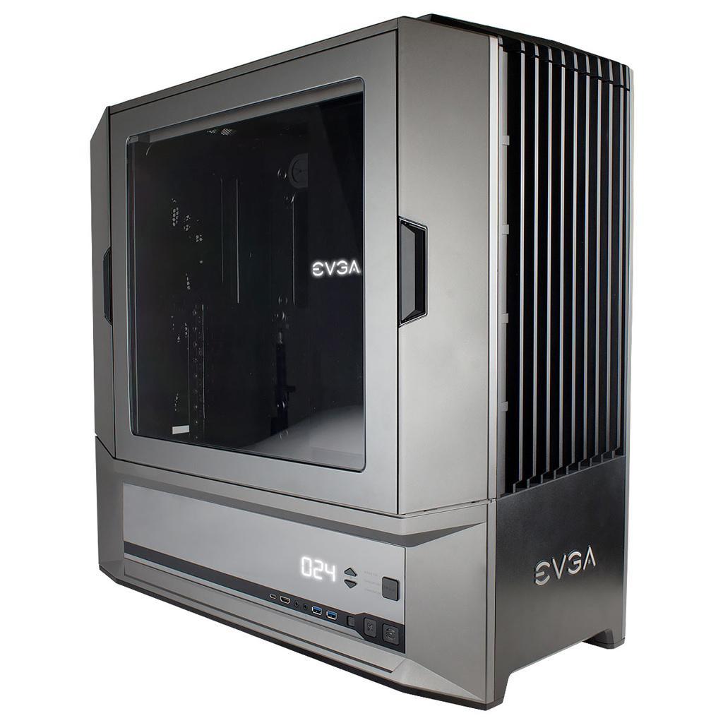 EVGA представила серию корпусов для энтузиастов DG-8x