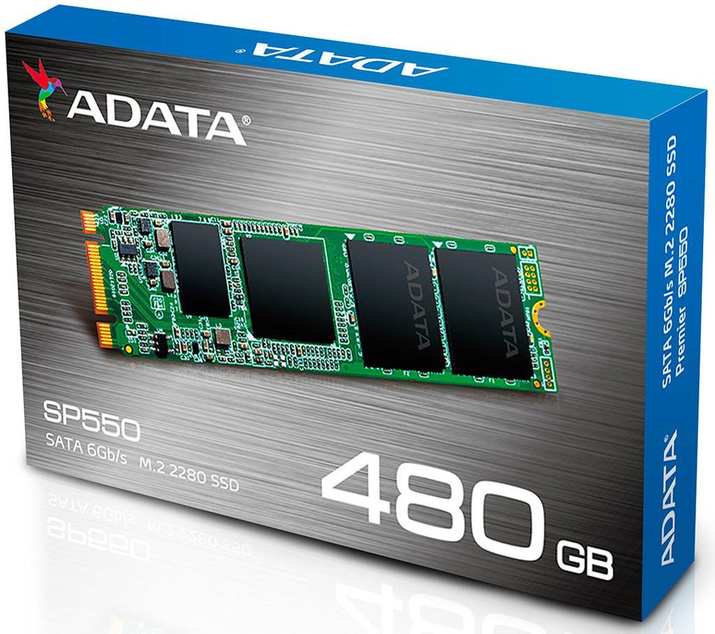 Adata выпускает SSD-накопители SP550 серии Premier