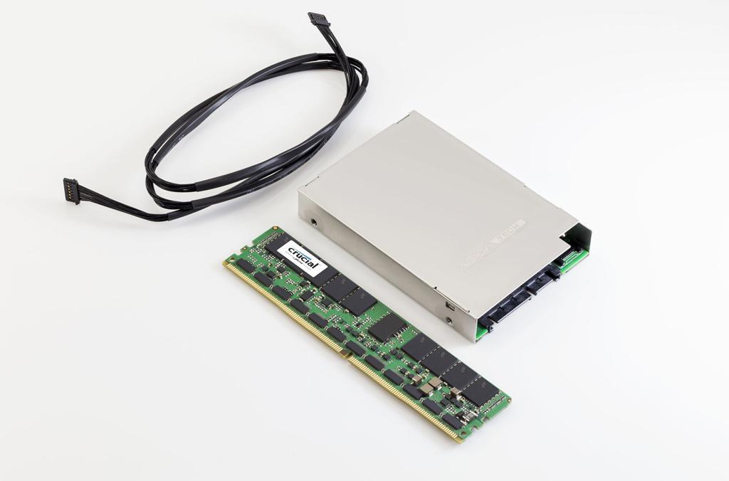 Crucial выпускает энергонезависимые модули памяти DDR4