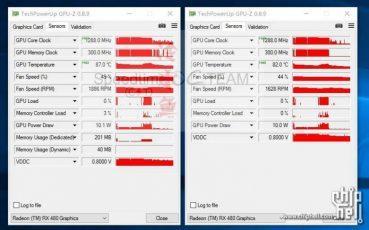 AMD Radeon RX 480: а что там по температурам?