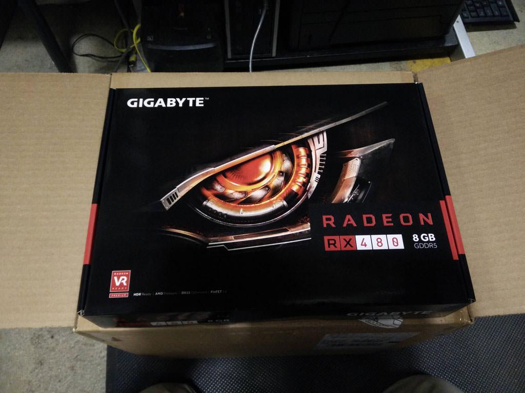 В магазины США доставлены RX 480. Партии в 25 раз больше чем GTX 1080