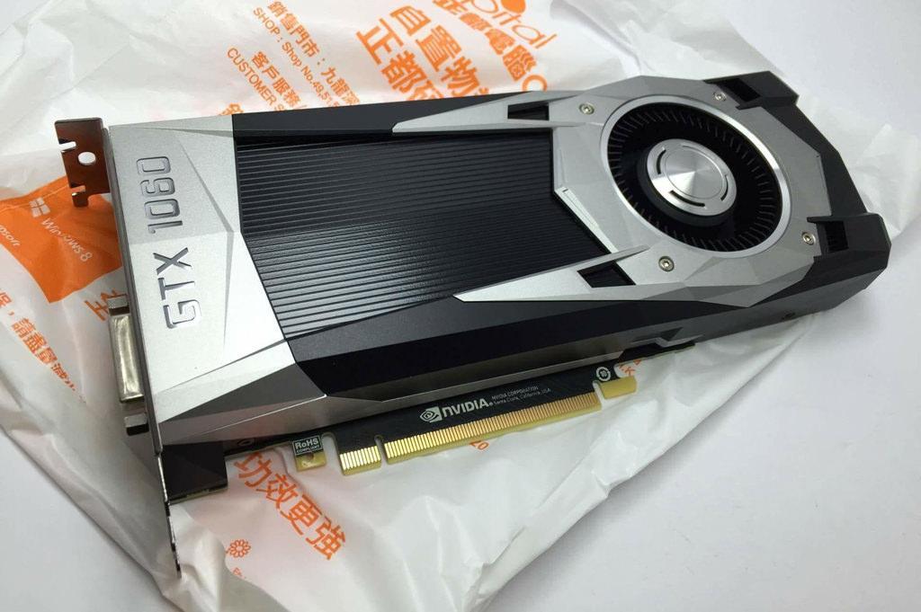 Первое фото Nvidia GeForce GTX 1060