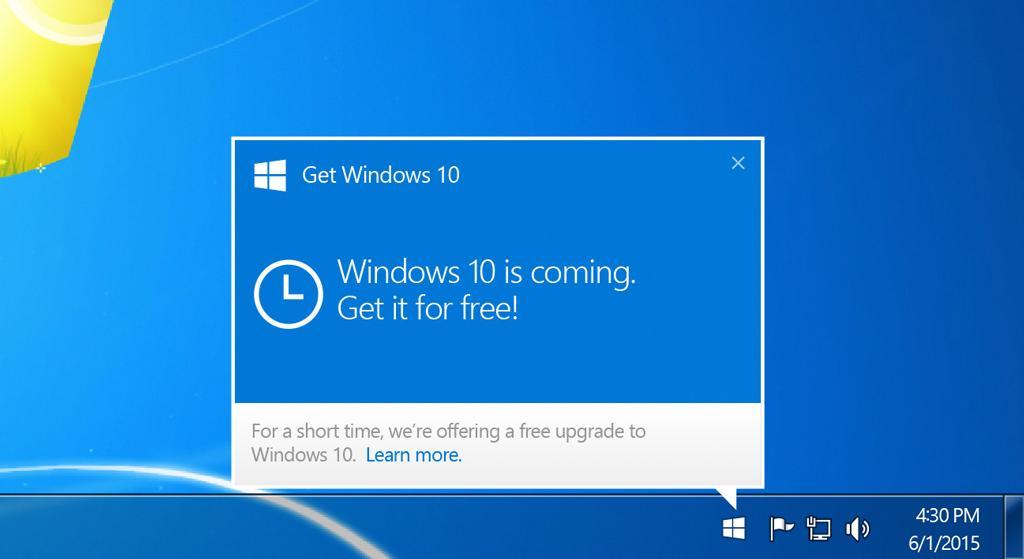 Microsoft обязали выплатить  тыс. за установку Windows 10 без согласия пользователя