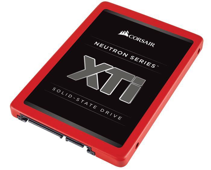 Corsair представила свои лучшие SSD-накопители – Neutron XTi