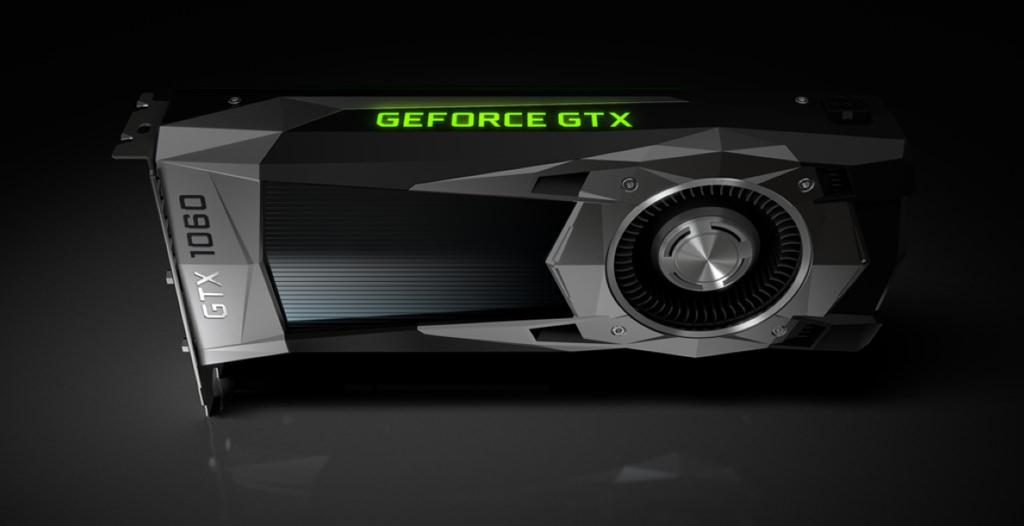 Видеокарта Nvidia GeForce GTX 1060 выпущена официально