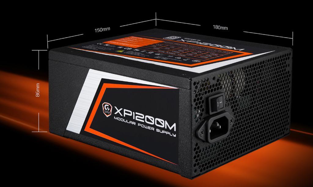 Gigabyte пополнила серию Xtreme Gaming блоком питания XP1200M