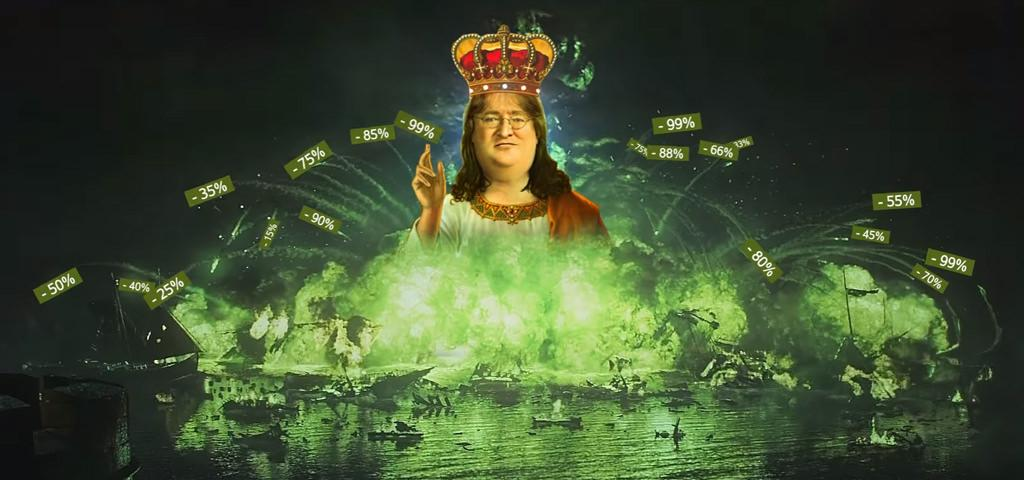 Летняя распродажа Steam возымела успех