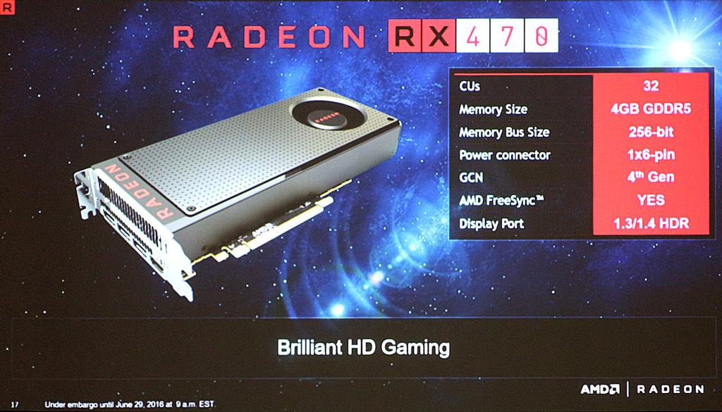 AMD Radeon RX 470 Specifications 01