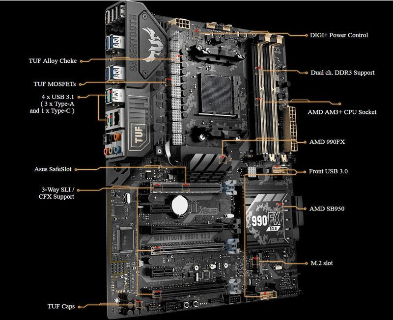 asus 990fx features