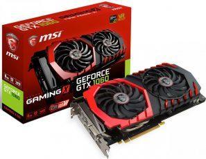 MSI показала GeForce GTX 1060 в собственном исполнении. Аж 6 штук