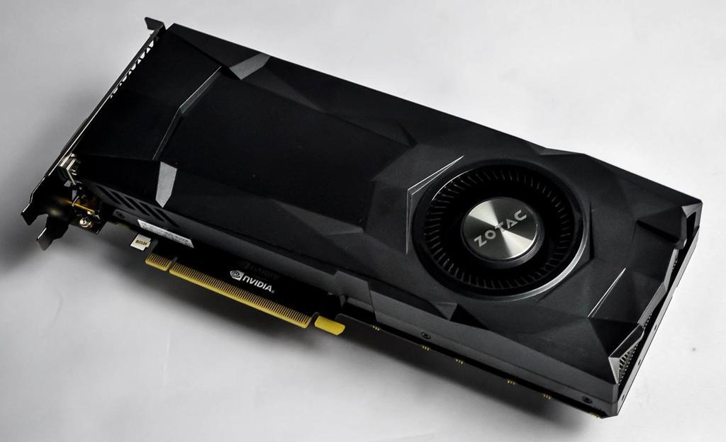 Zotac выпустила полностью черную GeForce GTX 1070 в референсном исполнении