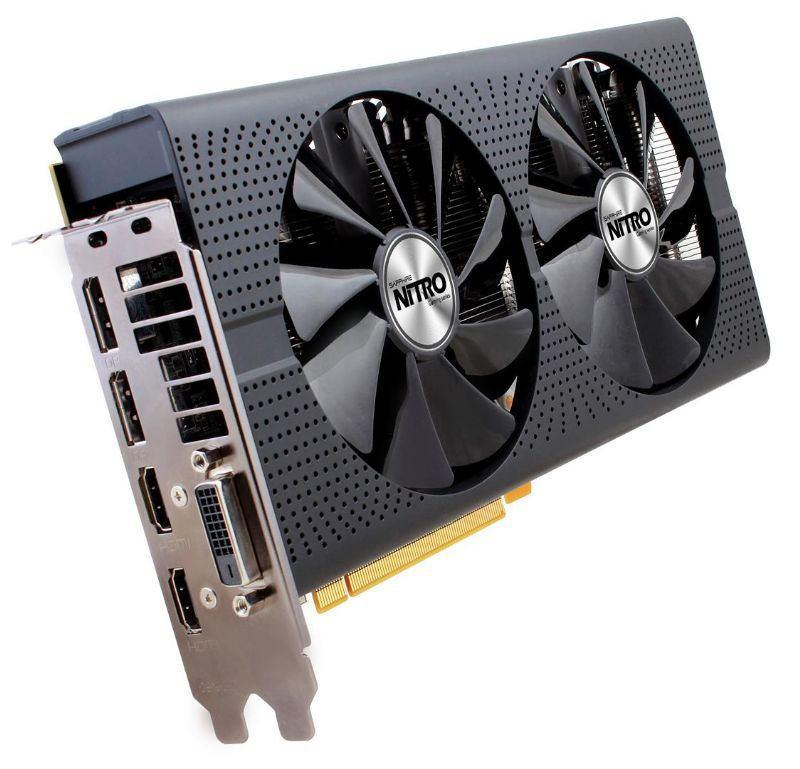 Фото и характеристики Sapphire Radeon RX 480 Nitro+