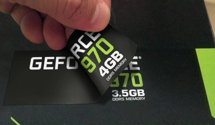 Nvidia компенсирует  покупателям GeForce GTX 970