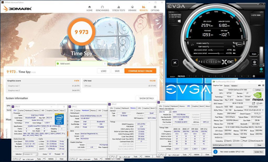 Установлен мировой рекорд 3DMark Time Spy для систем с одним GPU – 9973