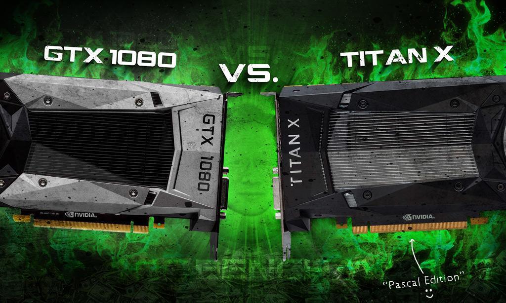 GeForce GTX 1080 против Titan X. Тесты с разгоном