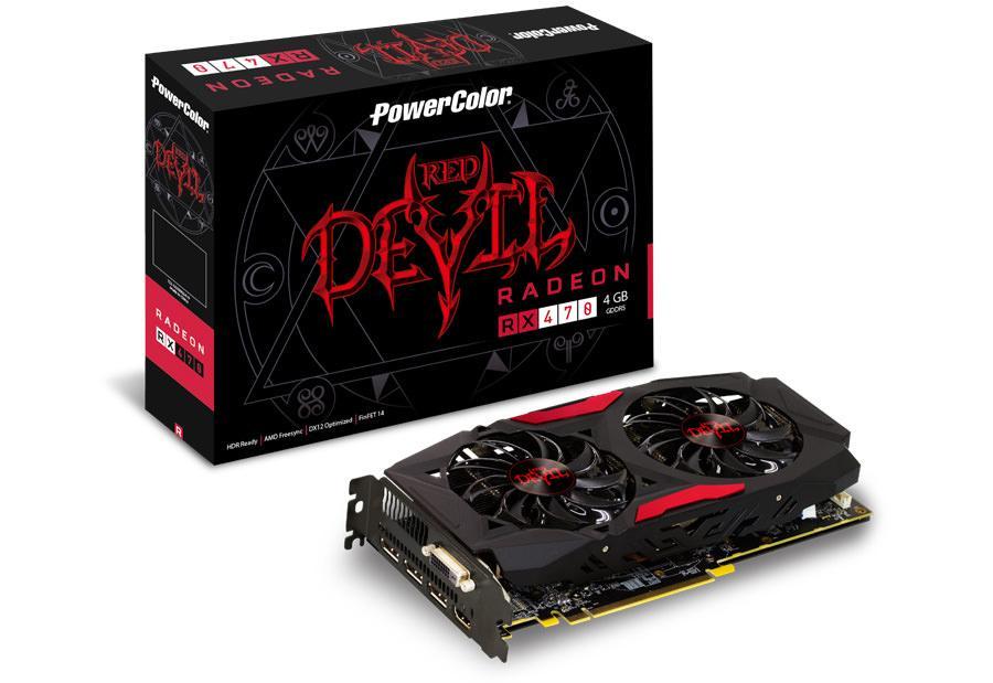PowerColor представили две модели RX 470 – дракона и дьявола