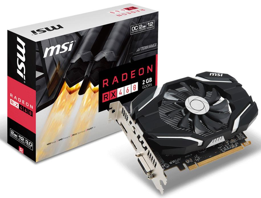 Radeon RX 460 в исполнении MSI и PowerColor