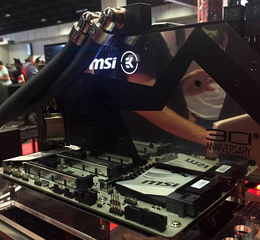 MSI готовит видеокарту к 30-летию