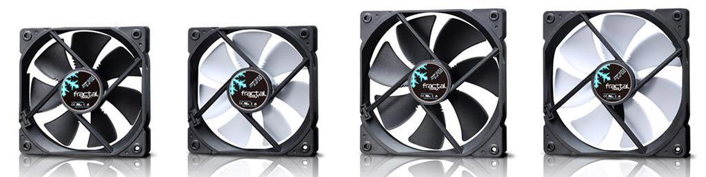 Fractal Design выпустила надежные вентиляторы Dynamic X2