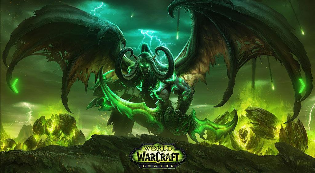 Состоялся выход дополнения Legion в World of Warcraft