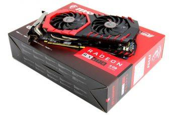 Обзор и тестирование видеокарты MSI Radeon RX 470 Gaming X 8 ГБ