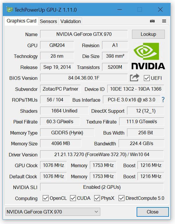 GPU Z 1.11.0 01