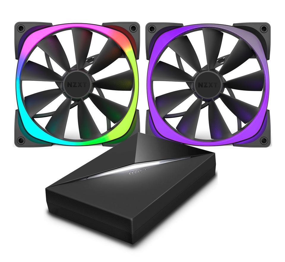 Aer RGB — красивые вентиляторы с детально настраиваемой RGB подсветкой от NZXT