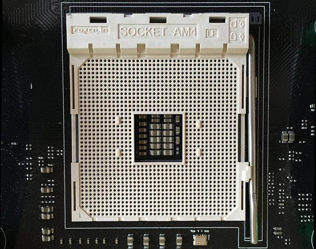 AMD AM4 socket 1
