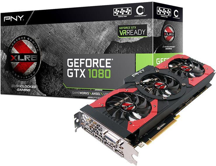 PNY GeForce GTX 1080 XLR8 OC 2