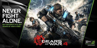 NVIDIA и Microsoft дарят Gears of War 4 при покупке GeForce GTX 1070/1080
