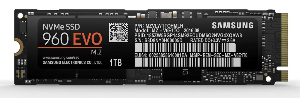 Samsung 960 Pro Evo 5