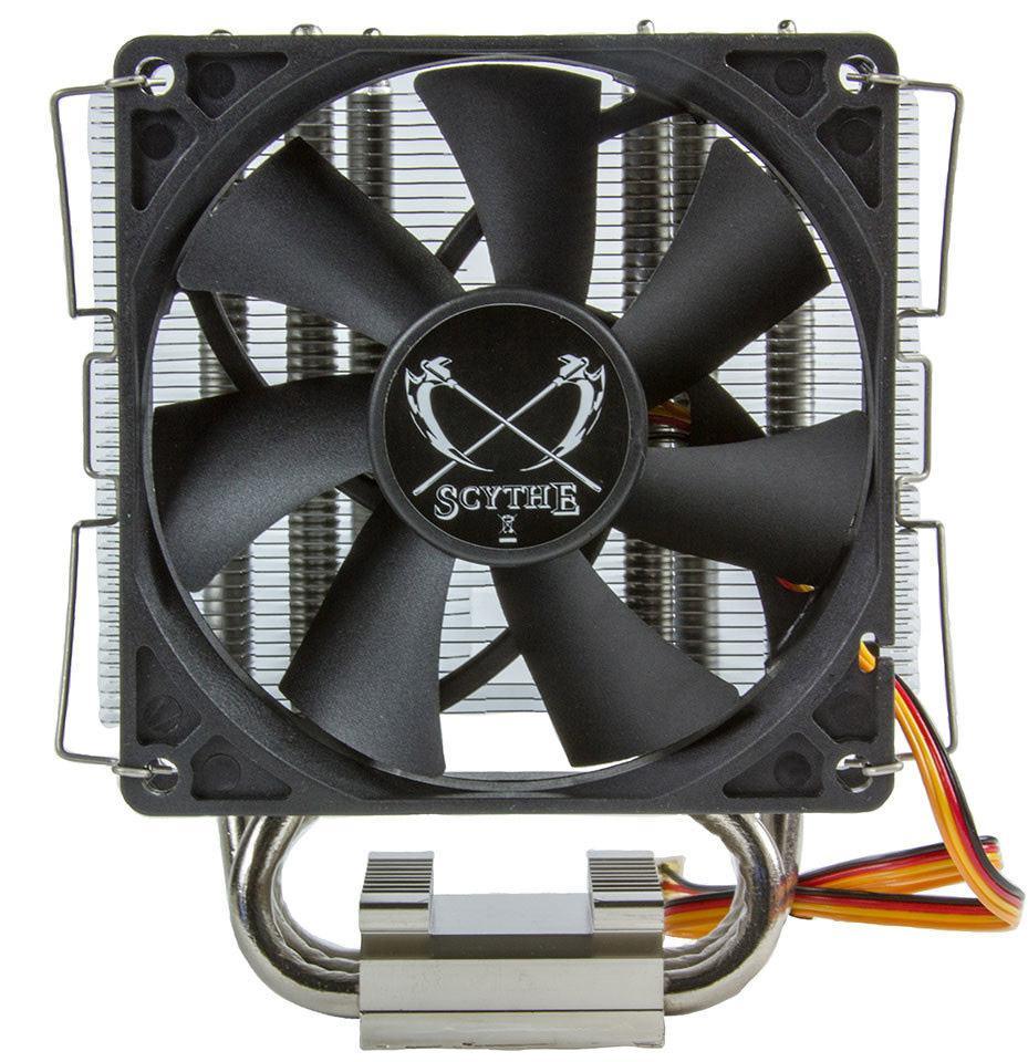 Scythe Byakko – новый процессорный кулер от именитого производителя