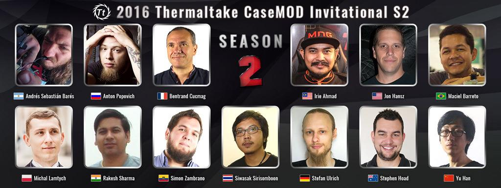 Thermaltake 2016 Case MOD Invitational 1