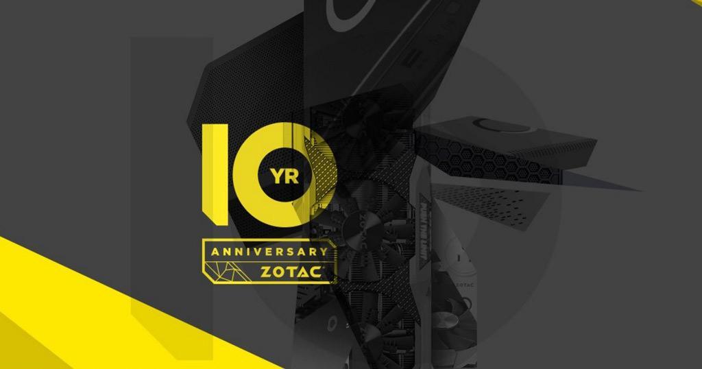 Zotac празднует юбилейные 10 лет работы
