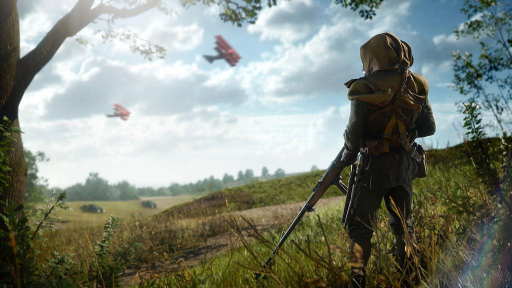 Опубликован трейлер одиночной компании Battlefield 1