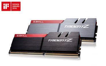 G.Skill расширяет серию памяти TridentZ 32 ГБ-наборами DDR4-3866