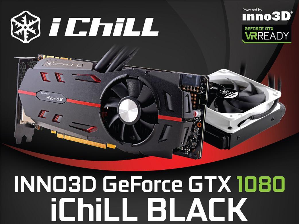 Inno3D GeForce GTX 1080 iChill Black – еще одна гибридная 1080-ка