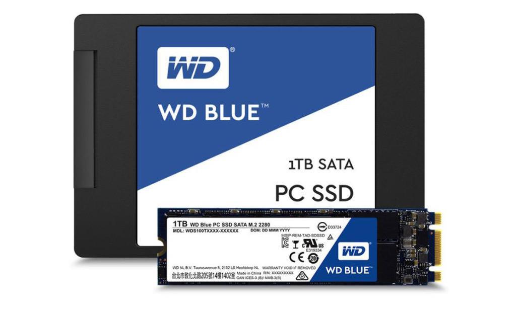 WD SSD Blue