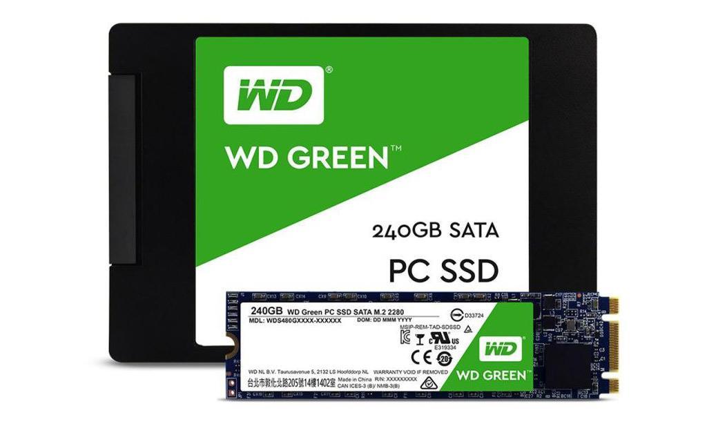 WD SSD Green