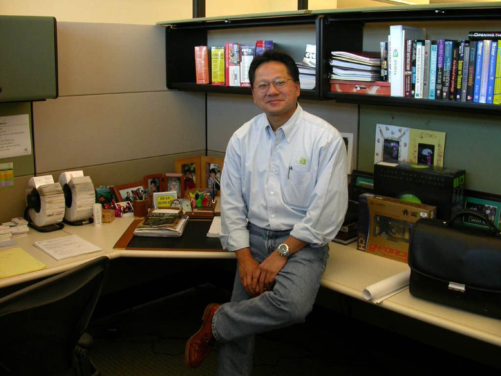 Дженсен Хуанг попал в топ 10 наиболее эффективных CEO