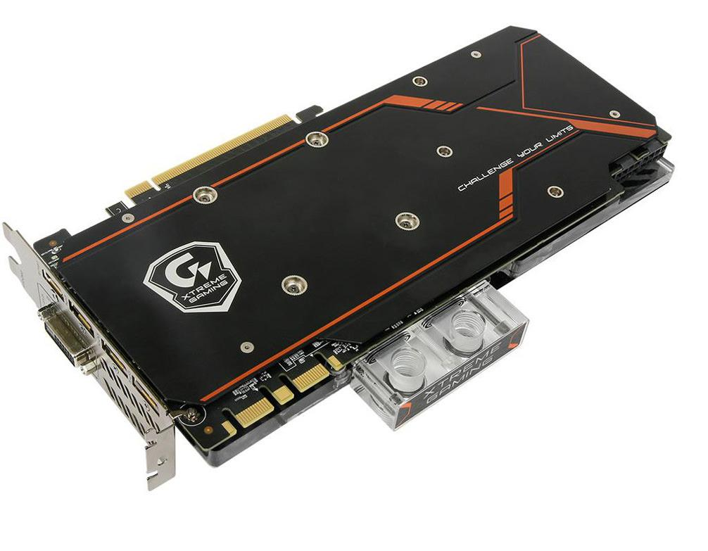 Gigabyte 1080 waterforce3