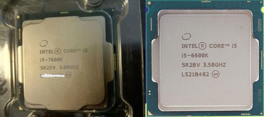 Intel Core i5 7600K