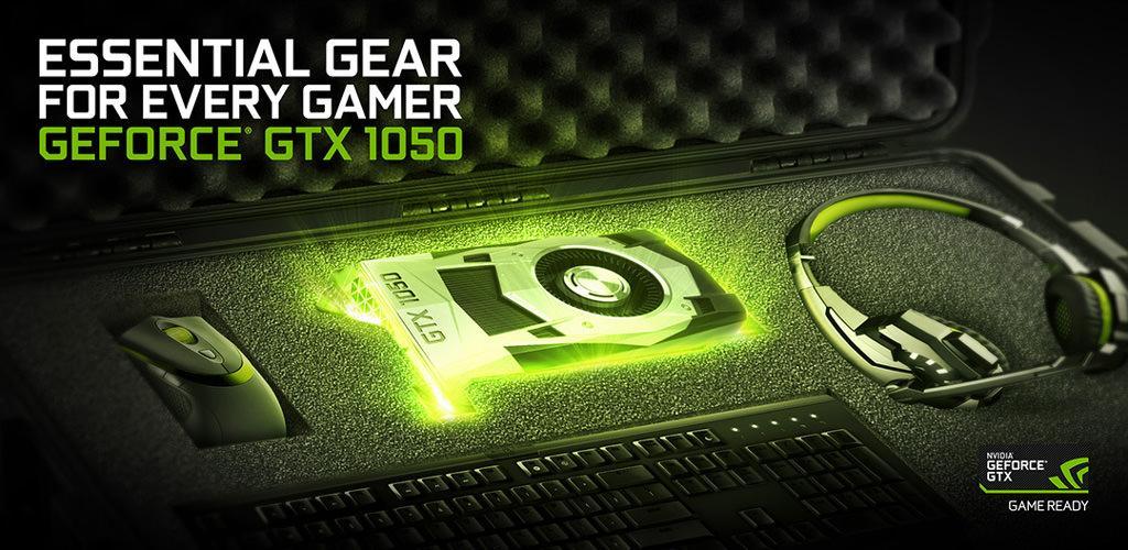 NVIDIA официально представила GeForce GTX 1050 и GTX 1050 Ti