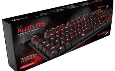 Начались продажи клавиатуры HyperX Alloy за рубежом и не только.