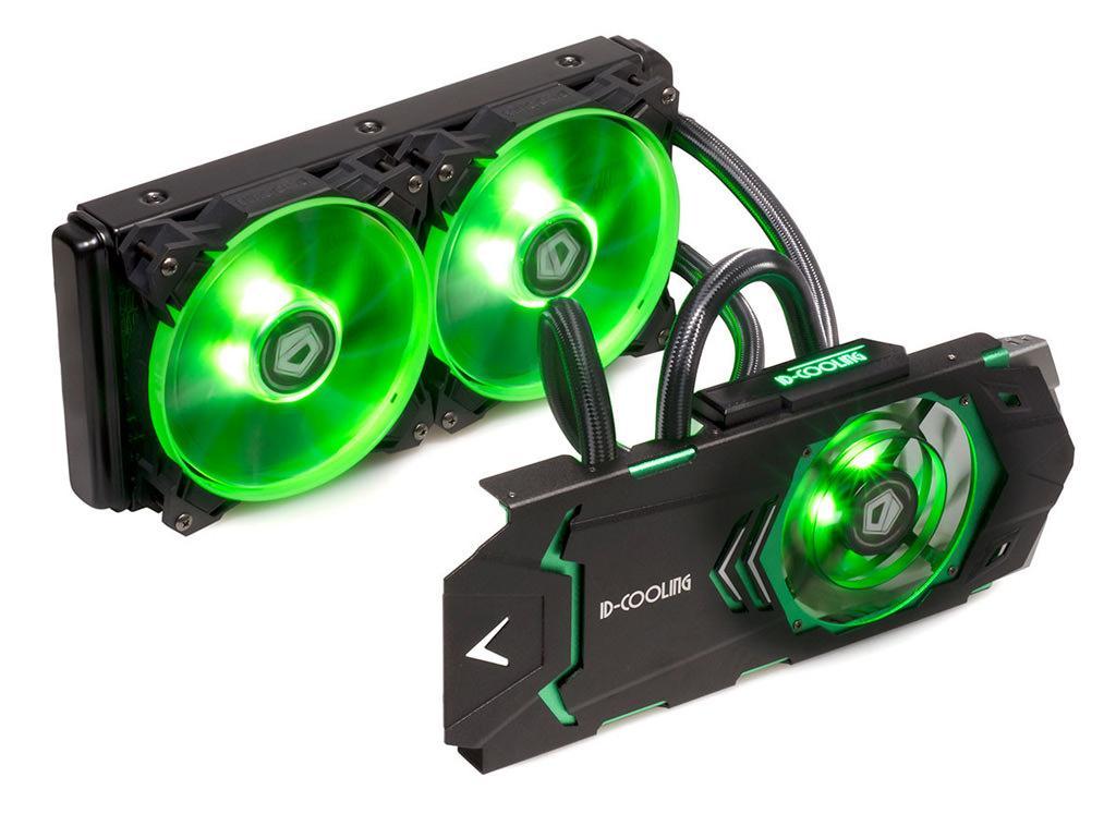 Icekimo 240 VGA – СВО для видеокарты от ID-Cooling
