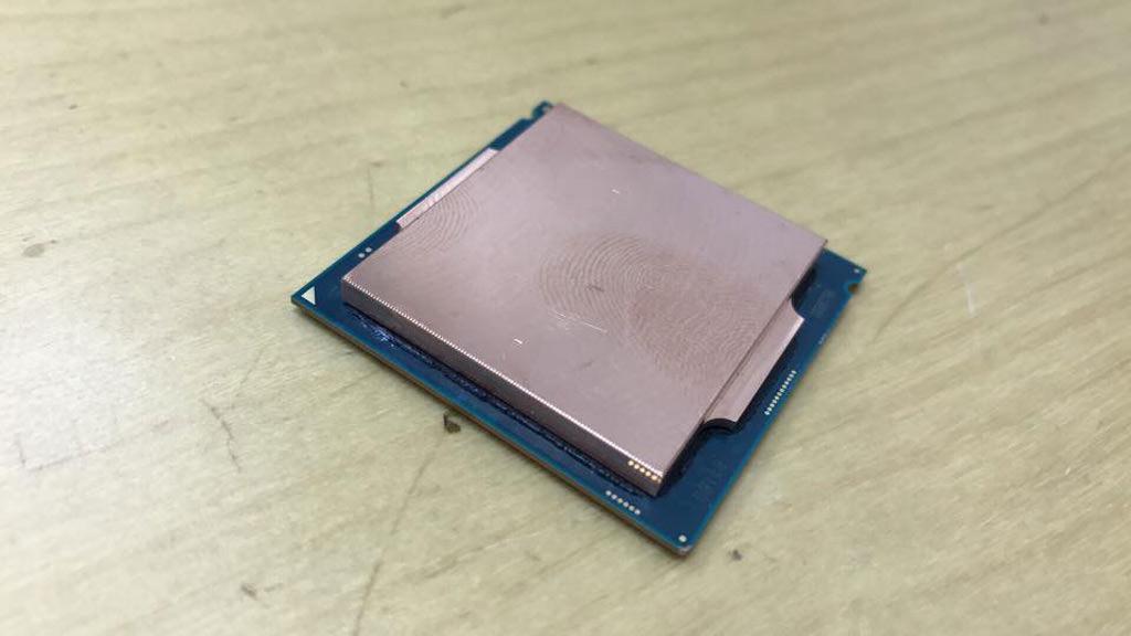 Intel Kaby Lake IHS 1