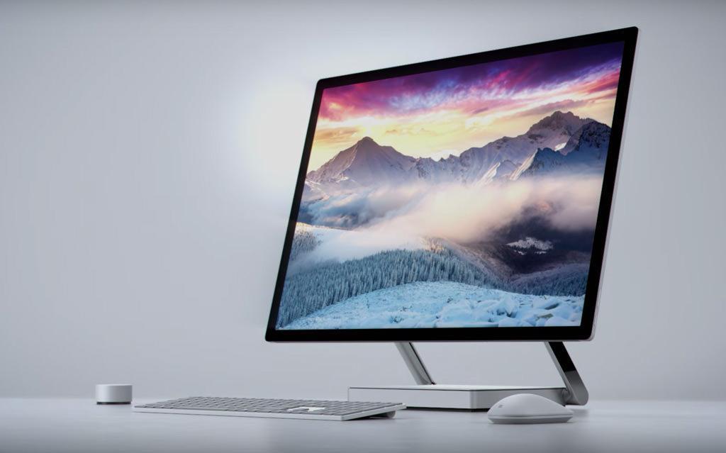 Surface Studio – первый моноблок от Microsoft, да еще и какой