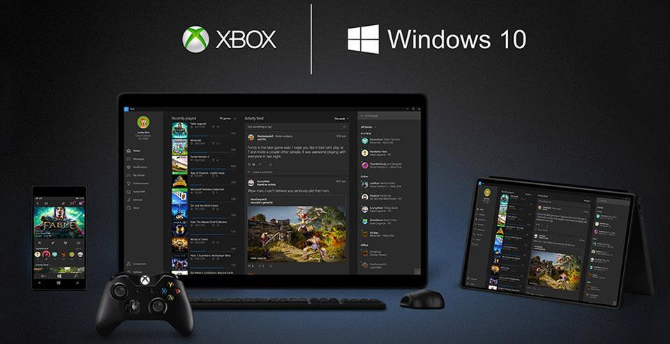 xbox one windows 10 synergy