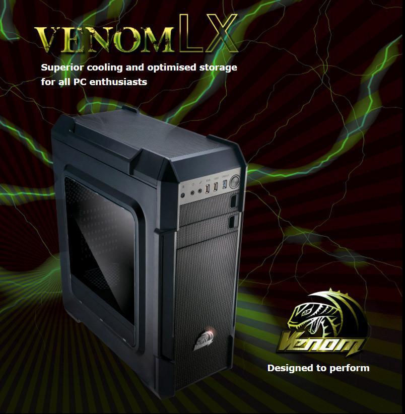 Akasa выпустила корпус Venom LX
